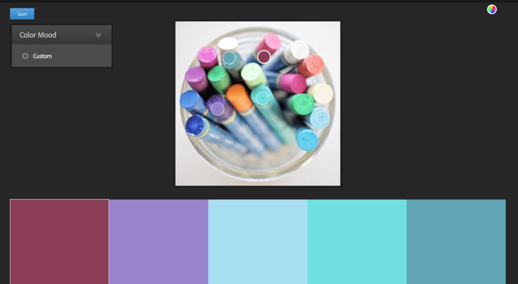Adobe Kuler Screenshot