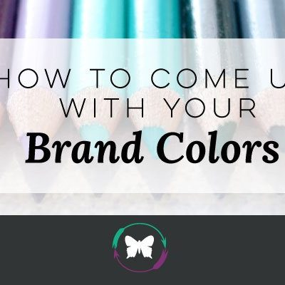 How To Come Up With Your Brand Colors – Video Post