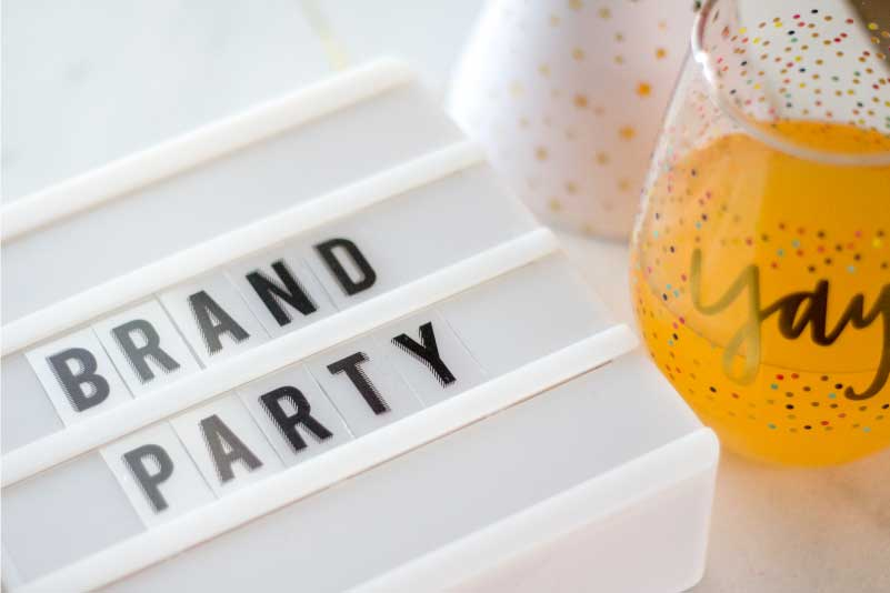 How to plan a party for your Brand