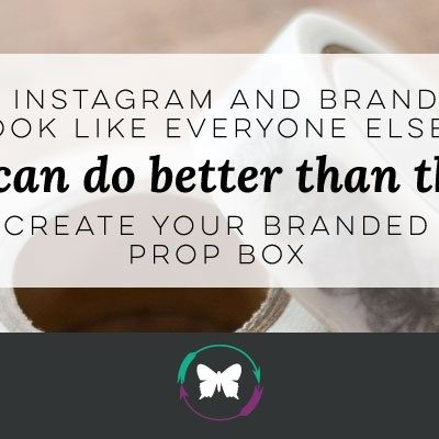 Do your Instagram and Brand Photos look like everyone else's?