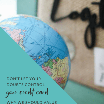Don't Let Your Doubts Control Your Credit Card – Why We Should Value Creating Impact With Our Business