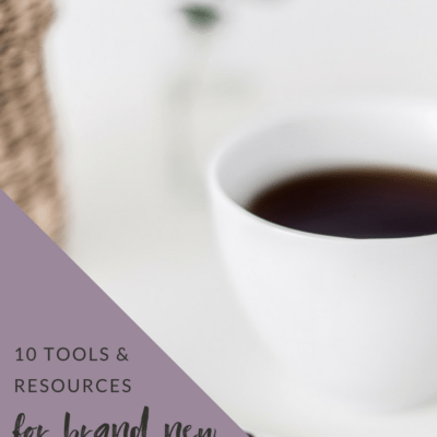 10 Tools and Resources for New Bloggers