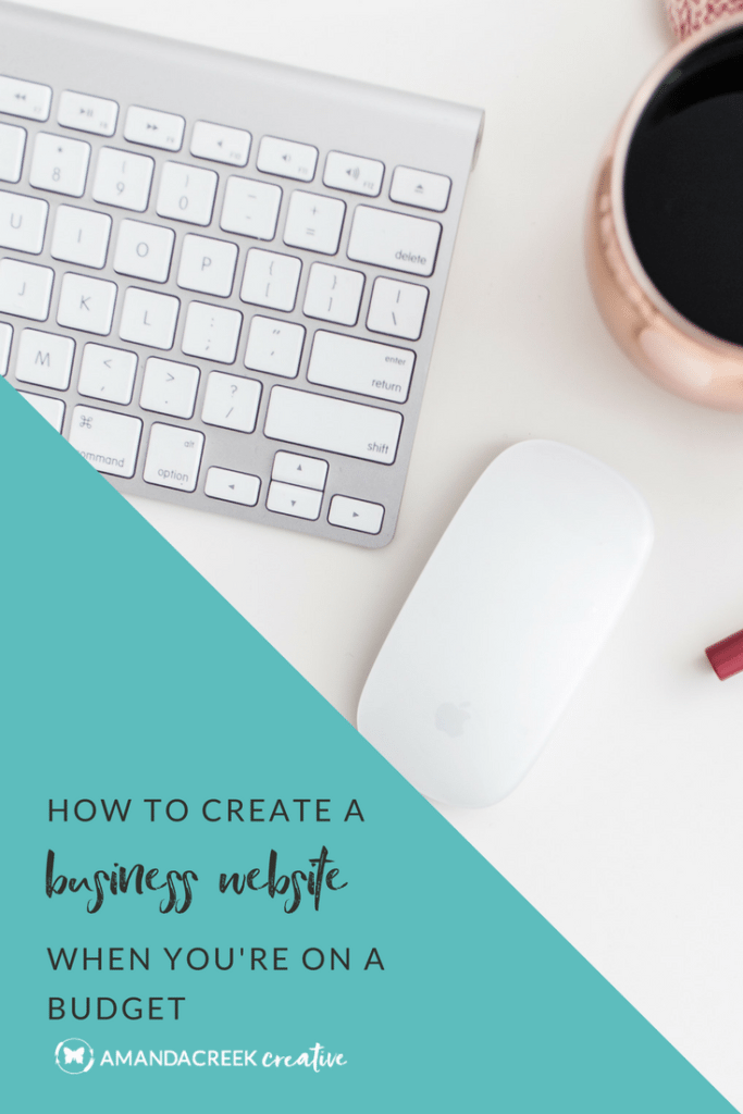 How to create a business website when you're on a budget