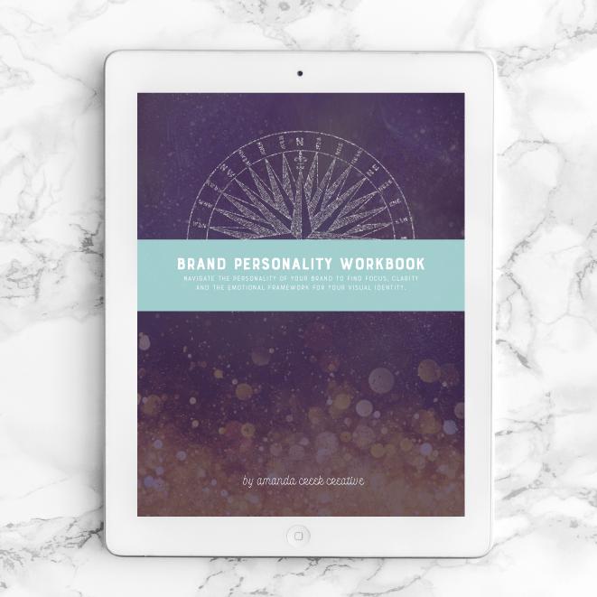 Brand Personality Workbook - $16