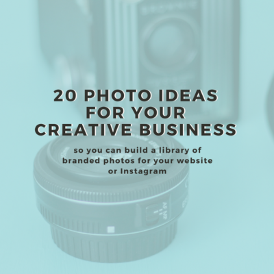 20 Must Have Photos For Your Creative Business