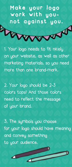 Make your logo work with you - not against you