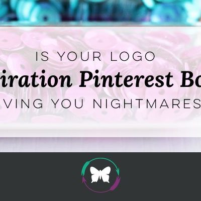 Is your Logo Inspiration Pinterest Board Giving you Nightmares?