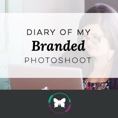 Diary of My Branded Photoshoot