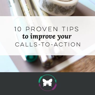 10 proven tips to improve your calls-to-action