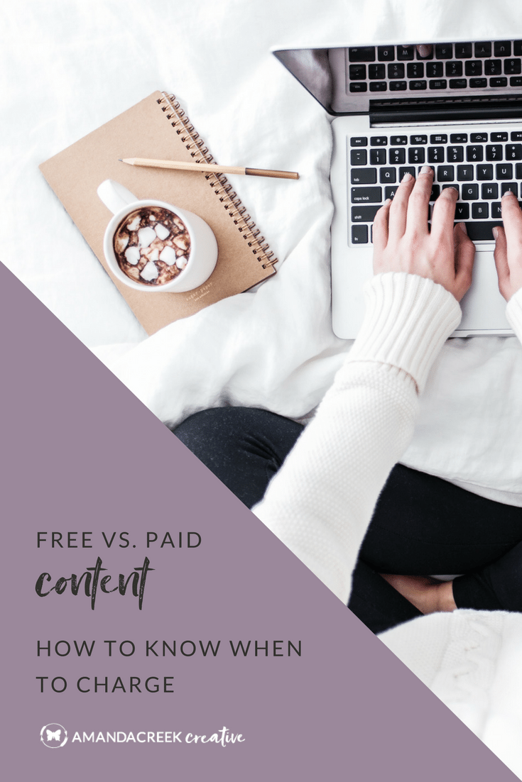 Free vs. Paid Content - How to know when to charge