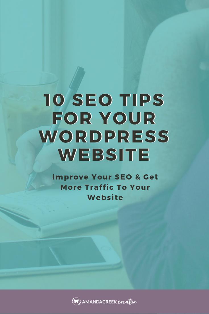 10 SEO Tips for your WordPress Website in 2018