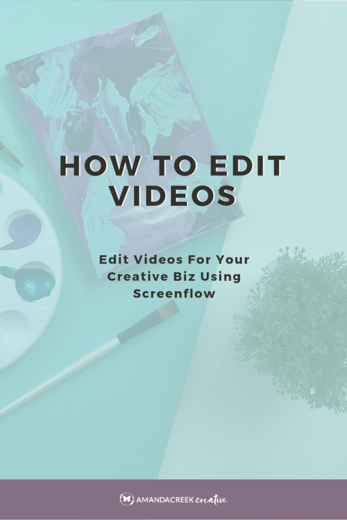 Edit videos for business using Screenflow