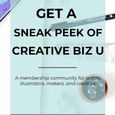 Get An Inside Look Into Creative Biz U With This Free Training