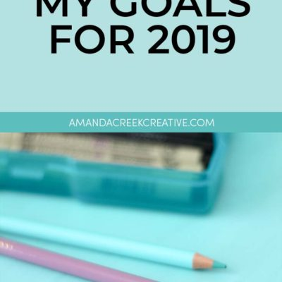 My Big Goals For 2019