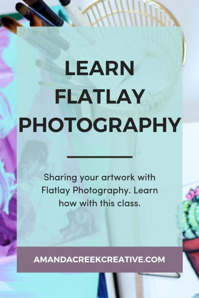 Learn flatlay photography