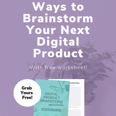 10 Fun Ways to Brainstorm Your Next Digital Product