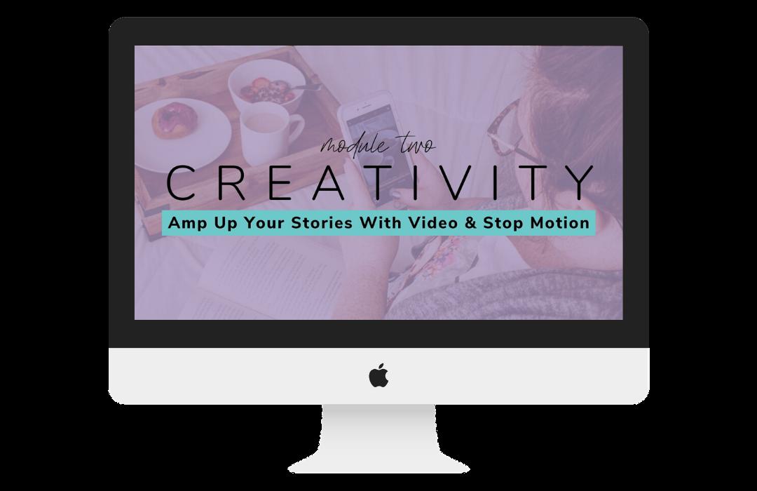 Module 2 - Creativity Mockup