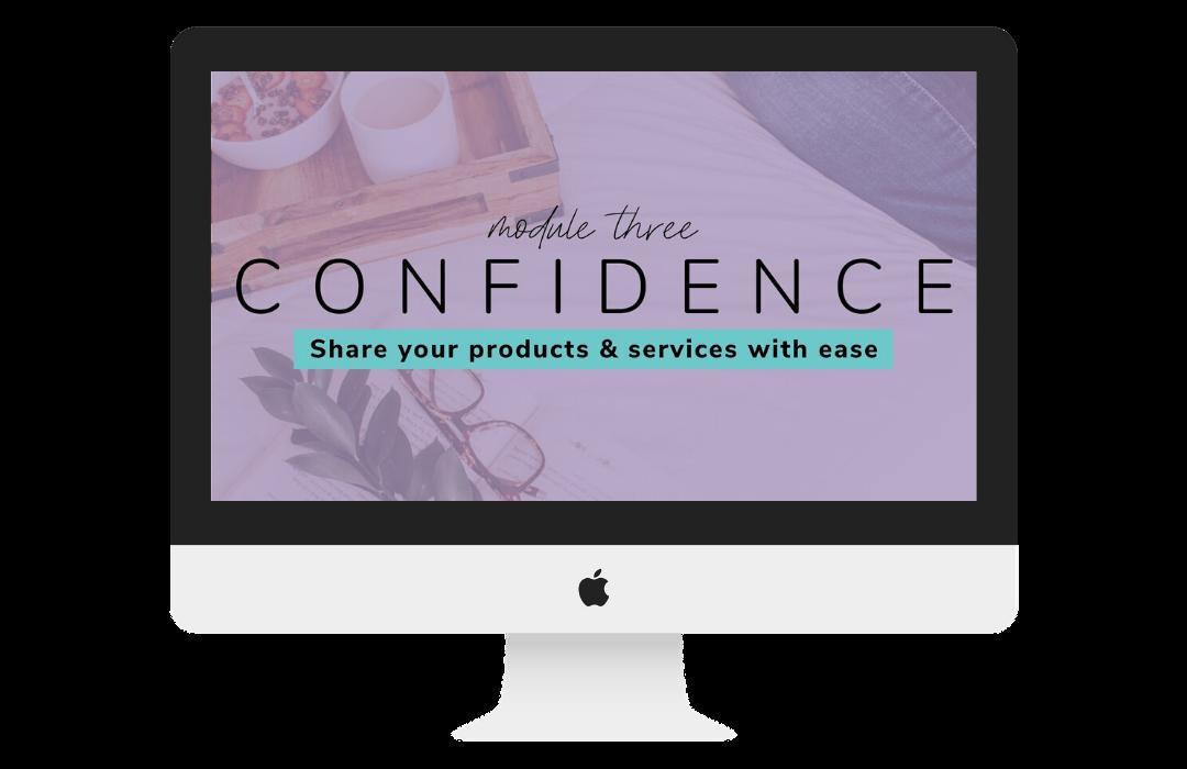 Module 3 - Confidence Mockup